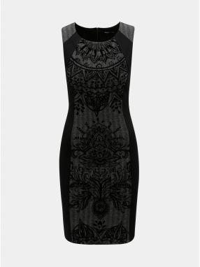 Desigual čierne šaty Goodbye značky Desigual - Lovely.sk feb2badd202
