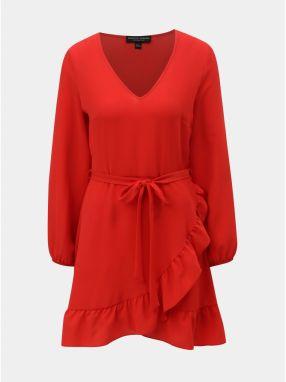 b220ac9de69a Červeno–čierne pruhované puzdrové šaty Dorothy Perkins značky ...