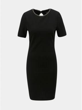 499dfca6e654 Puzdrové vzorované šaty v zlato–čiernej farbe Dorothy Perkins značky ...