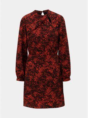 97e2fb4982a0 Červené šaty s volánovými rukávmi VERO MODA Hannah značky Vero Moda ...