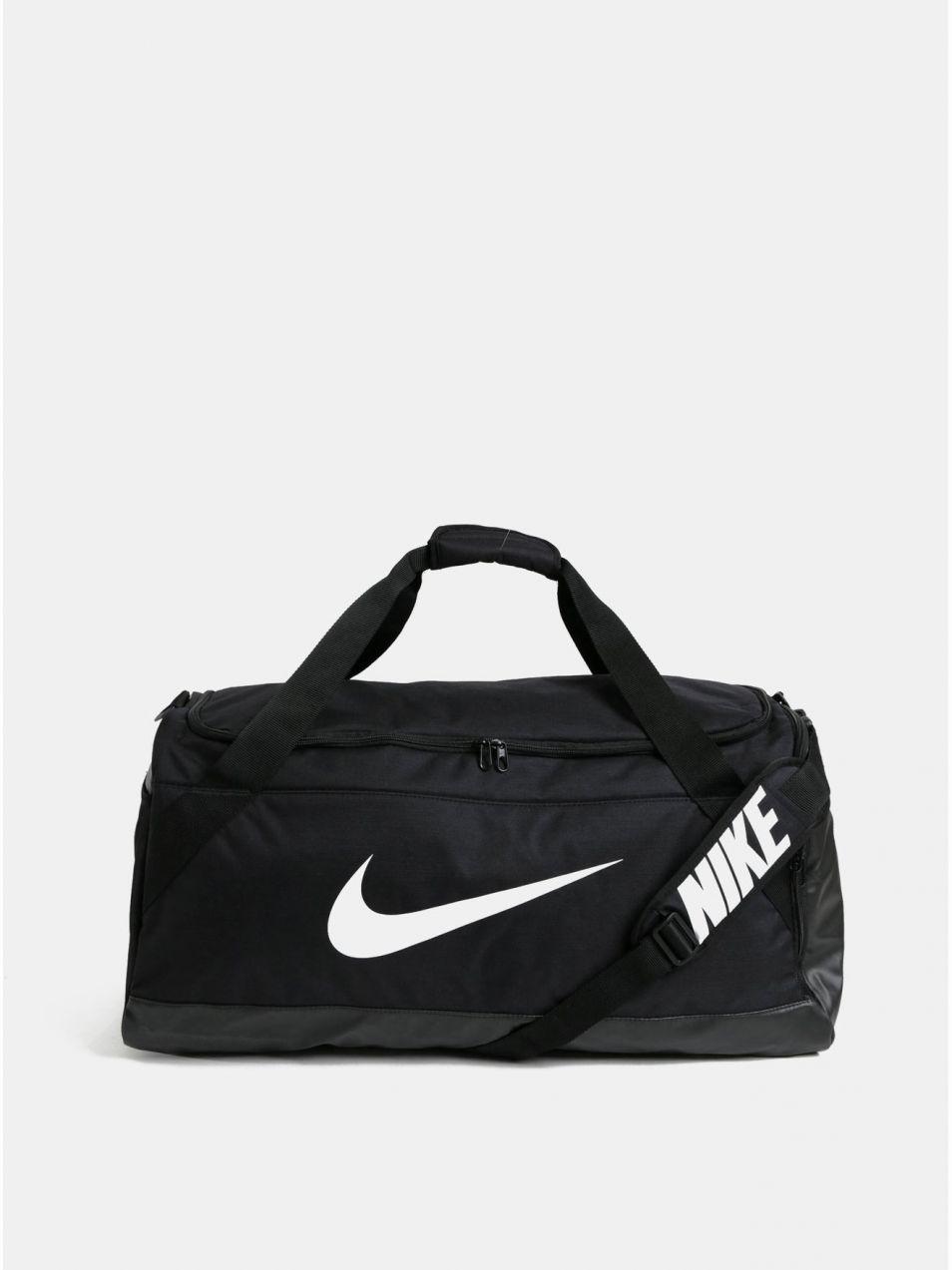 370665ab719b Čierna športová taška s potlačou Nike 81 l značky Nike - Lovely.sk