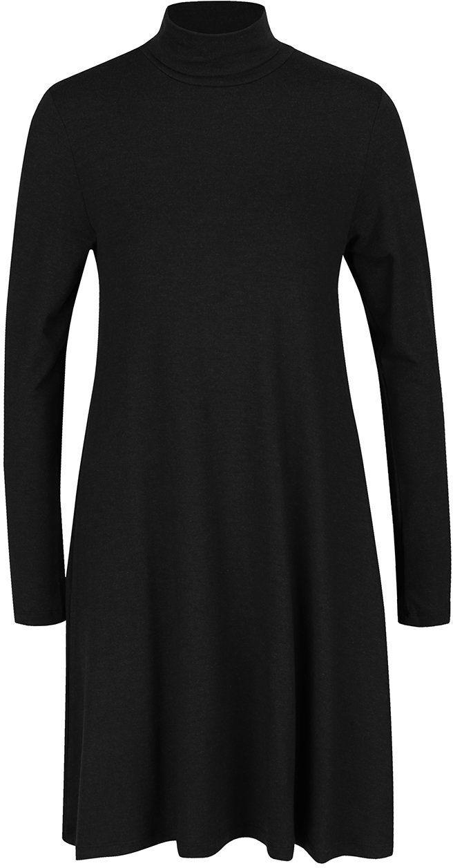 6a4d3a8c381d Tmavosivé voľnejšie šaty s rolákom a dlhým rukávom ONLY Moster značky ONLY  - Lovely.sk