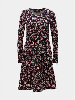 90a883d06a4f Mentolové vzorované zavinovacie šaty s volánmi VERO MODA Henna ...