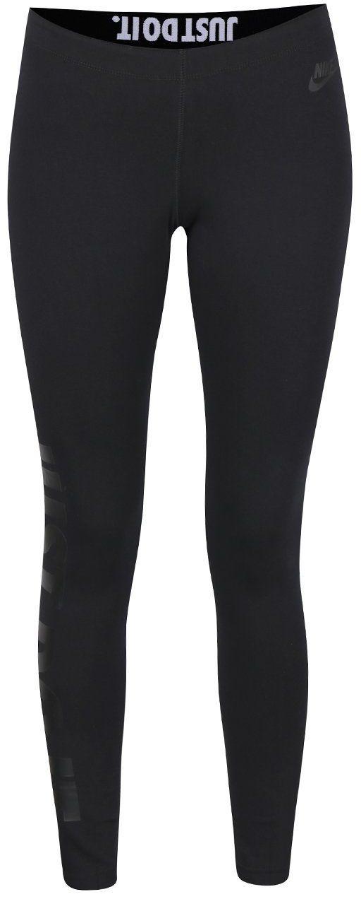 5b91d33202a9 Čierne dámske legíny Nike Sportswear značky Nike - Lovely.sk