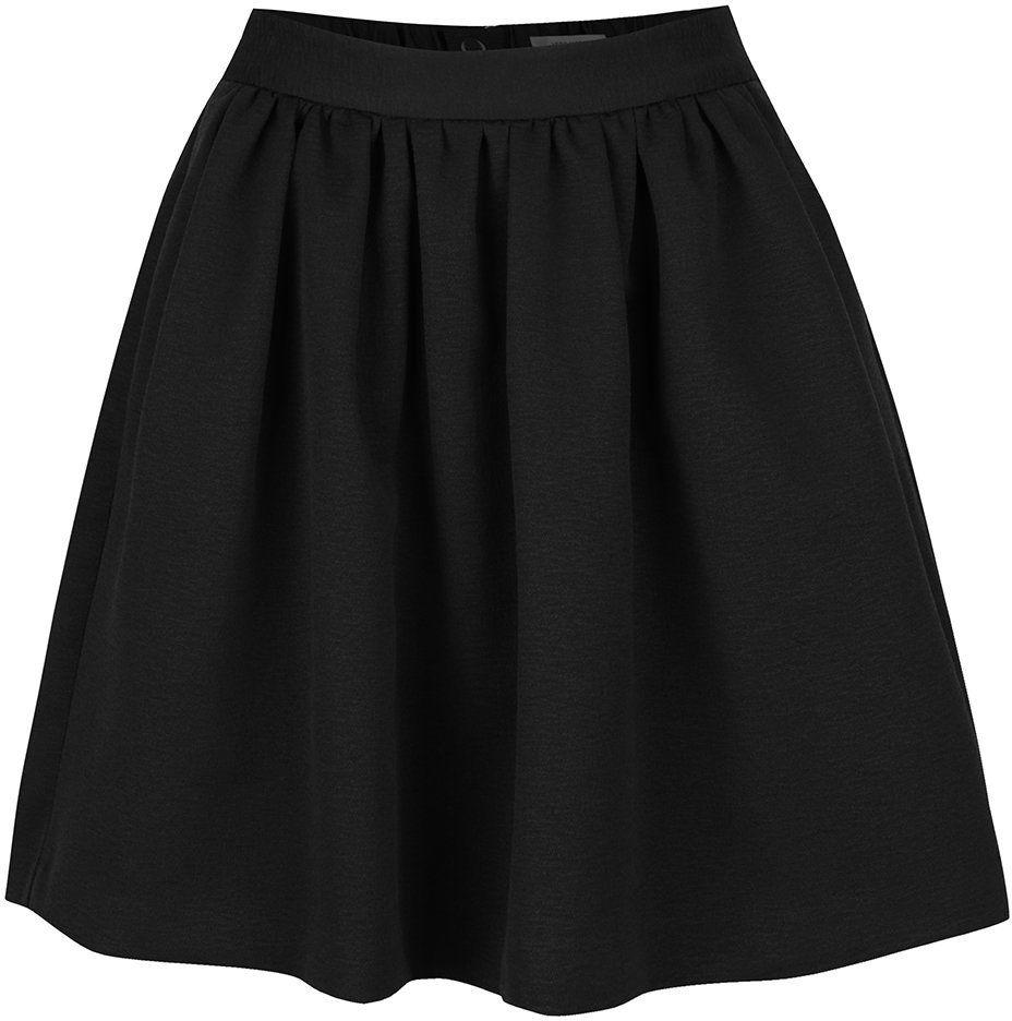 ebc4336ff727 Čierna nariasená sukňa Vero Moda Lea značky Vero Moda - Lovely.sk