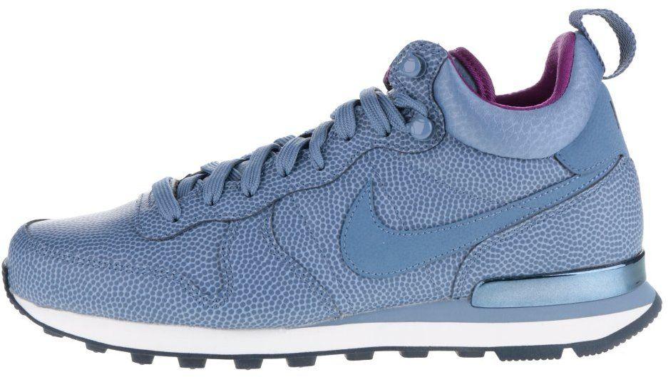b4cce68a9e103 Modré kožené dámske členkové tenisky Nike Internationalist Mid Leather  značky Nike - Lovely.sk