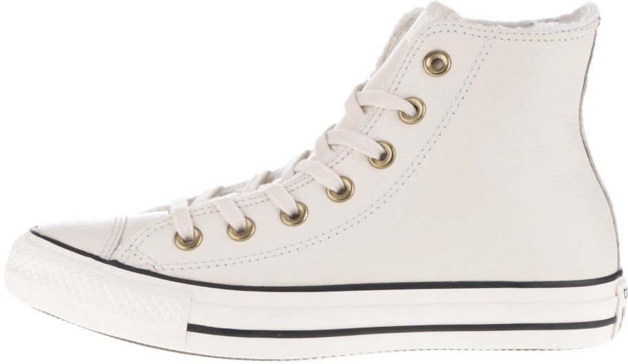 ea6350b58 Krémové dámske kožené členkové tenisky Converse Chuck Taylor All Star  značky Converse - Lovely.sk