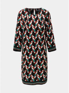 a5247fb5b8c4 Zeleno–čierne vzorované šaty Dorothy Perkins Tall