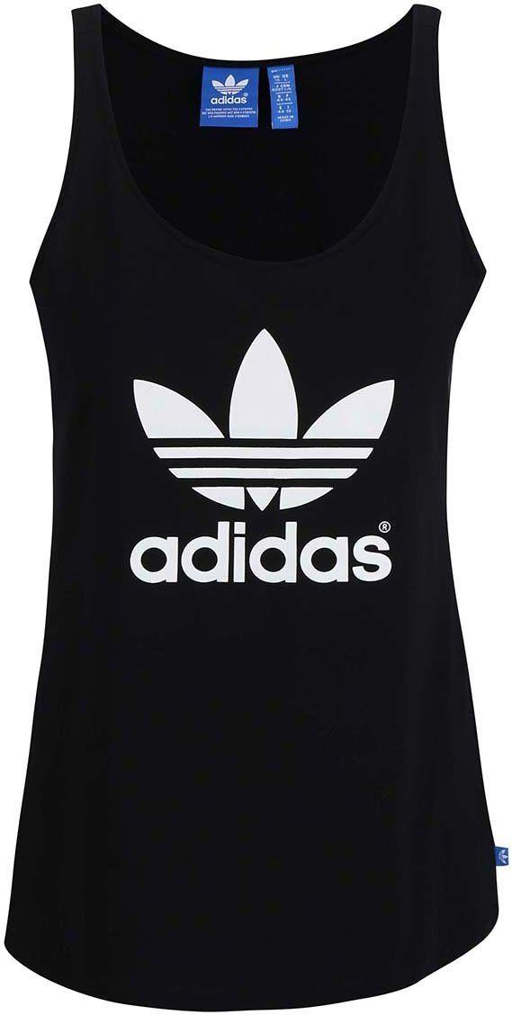 bd1c5ad52386 Čierne dámske tielko adidas Originals značky adidas Originals - Lovely.sk