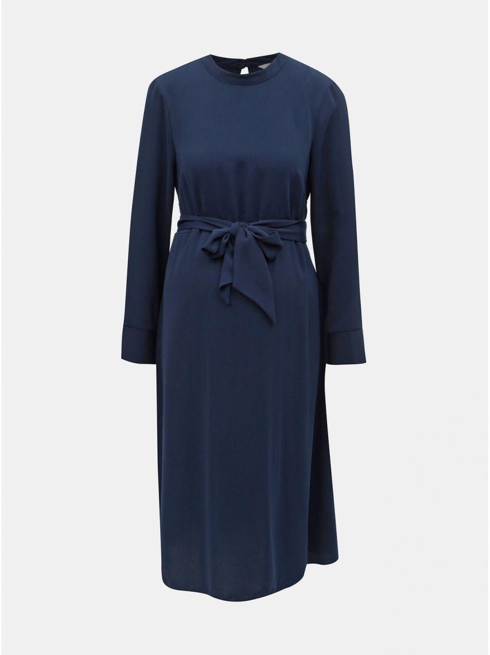524840763e1a Tmavomodré tehotenské šaty Dorothy Perkins Maternity značky Dorothy ...