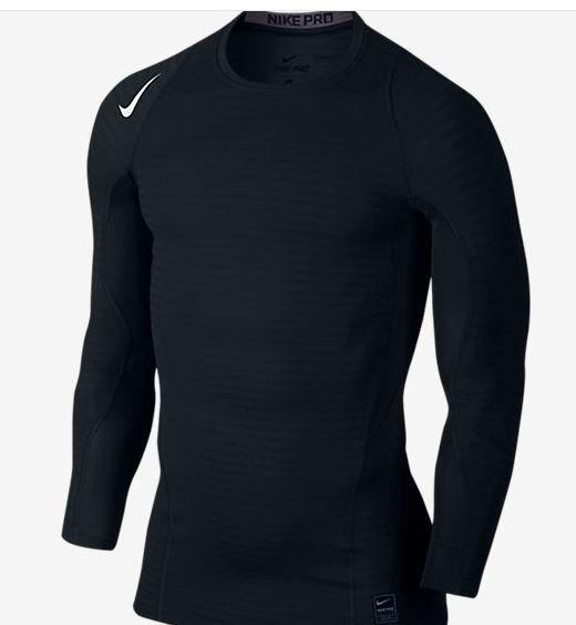 5390b1b1044a Čierne pánske funkčné tričko s dlhým rukávom Nike Pro značky Nike -  Lovely.sk