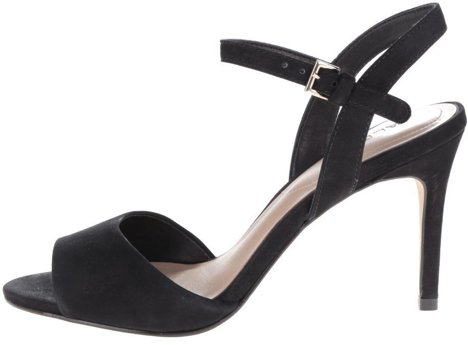 590c4bb0ccad Čierne semišové sandálky na ihlovom podpätku ALDO Volongo značky ALDO -  Lovely.sk