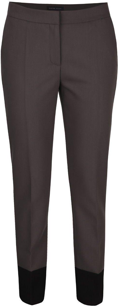 f223d2703083 Sivé dámske nohavice s pukmi Pietro Filipi značky Pietro Filipi - Lovely.sk