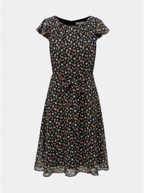 Čierne šaty s jemným plastickým vzorom Billie   Blossom Petite ... 640df07109a