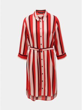 Červené kockované košeľové šaty Bohemian Tailors Eldora značky ... d0b27ce63bc