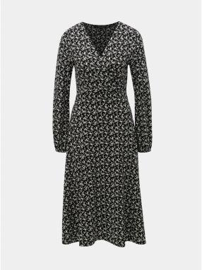 14c98777d465 Čierne šaty s bielymi bodkami Dorothy Perkins značky Dorothy Perkins ...