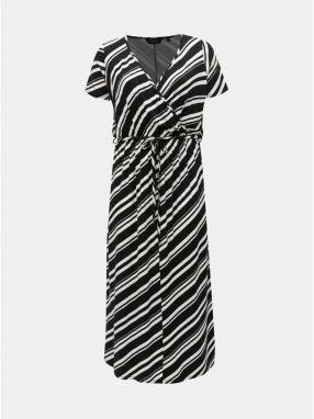 db9bfcd8c689 Bielo–čierne pruhované maxišaty Dorothy Perkins Curve