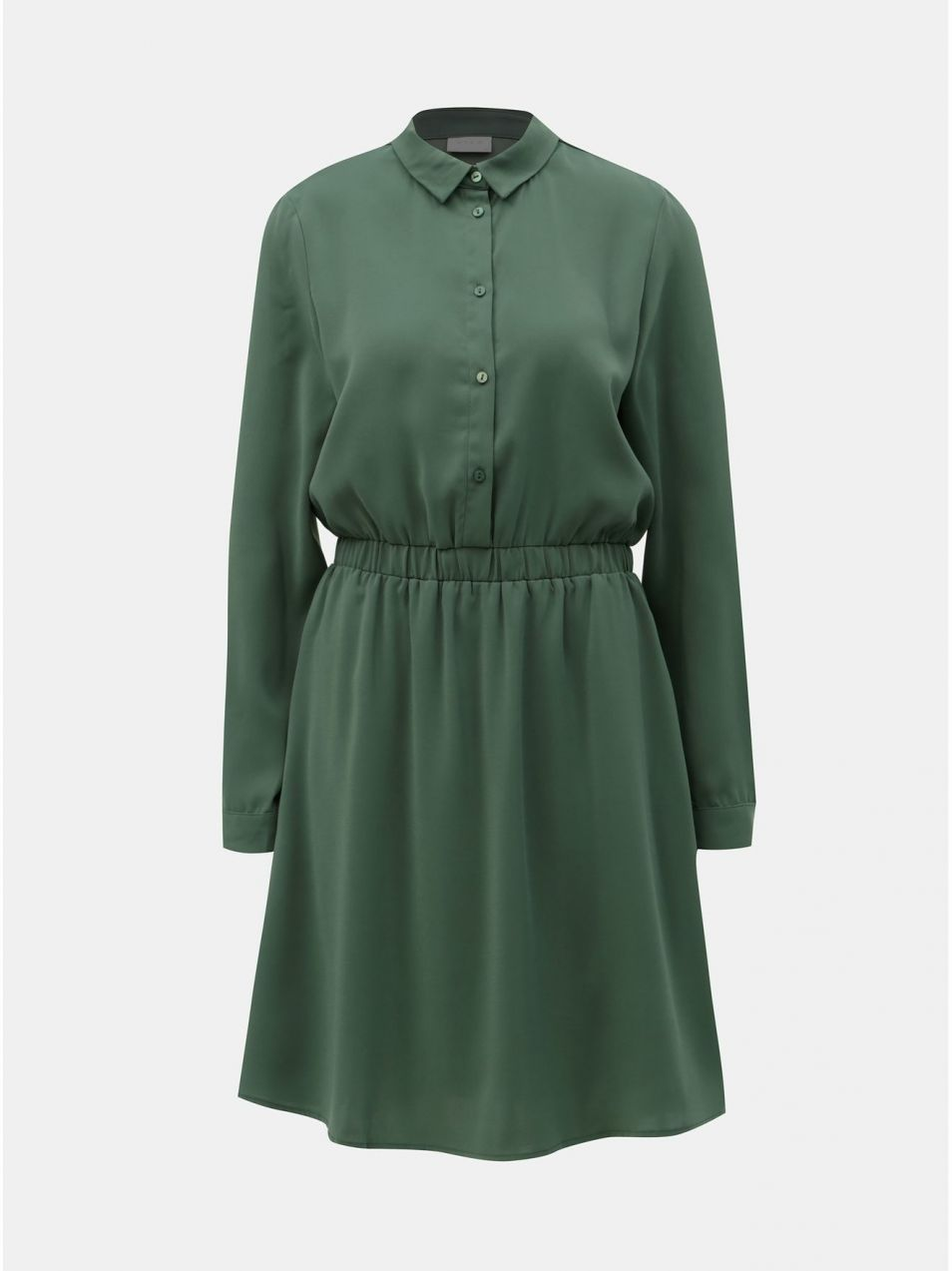 75485eb3b8c5 Zelené košeľové šaty VILA Laia značky VILA - Lovely.sk