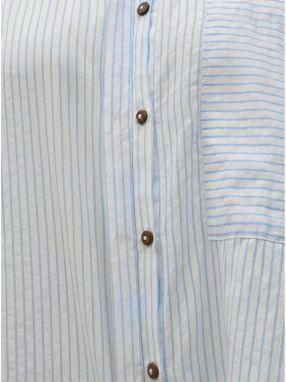 21abc55617cf Modro–biela pruhovaná košeľa ONLY Carry značky ONLY - Lovely.sk