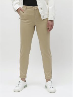 c8de8cbbe158 Zeleno-krémové vzorované voľné nohavice s vysokým pásom Haily s ...