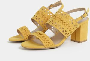 942fb45ce652 Žlté sandále v semišovej úprave Dorothy Perkins značky Dorothy ...