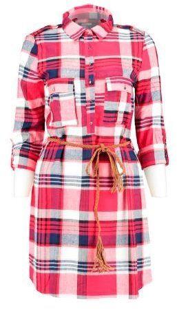 Modro-červené kockované košeľové šaty s tenkým opaskom Haily s Patty značky  Haily´s - Lovely.sk 29e5a024900