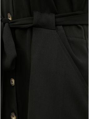 2c1b02b57766 Čierne košeľové šaty s opaskom Dorothy Perkins značky Dorothy ...