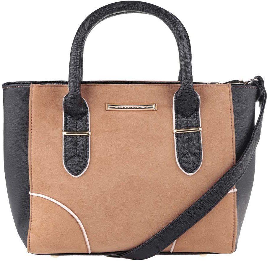 Čierno-hnedá kabelka s odnímateľným popruhom Dorothy Perkins značky Dorothy  Perkins - Lovely.sk a52ae536e56