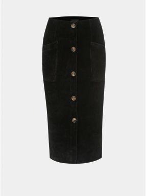 a43e4837206a Zeleno-čierna vzorovaná áčková sukňa Closet značky Closet - Lovely.sk