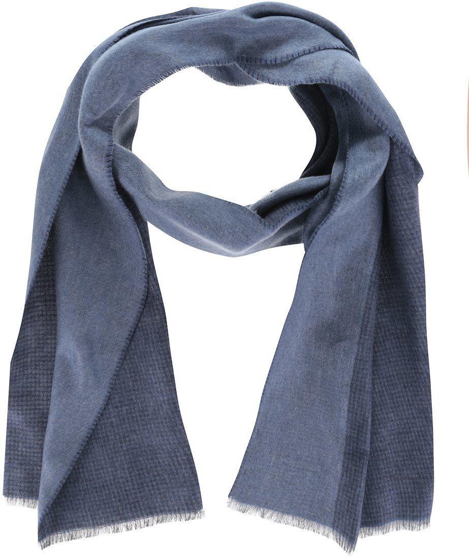 Modrý pánsky šál Pietro Filipi značky Pietro Filipi - Lovely.sk 651014a91b8