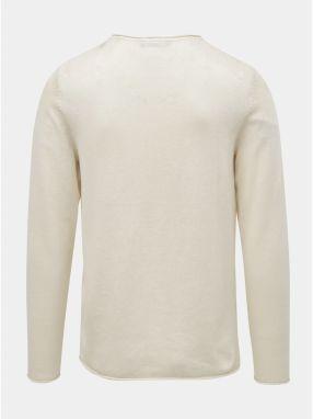 7bf09878d473 Krémový ľanový sveter Jack   Jones Linen značky Jack   Jones - Lovely.sk