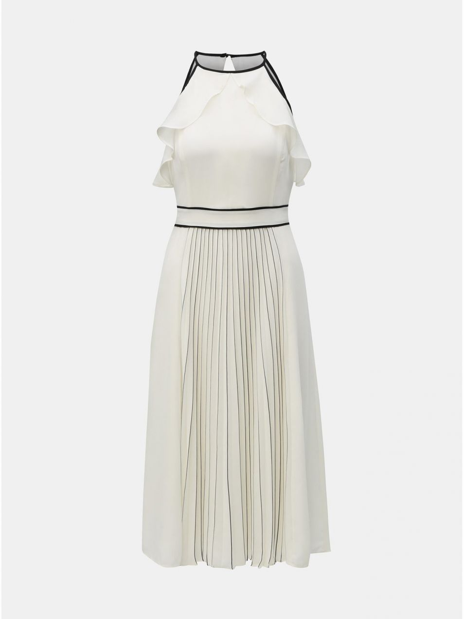 d7ffd511d624 Biele plisované šaty Dorothy Perkins značky Dorothy Perkins - Lovely.sk