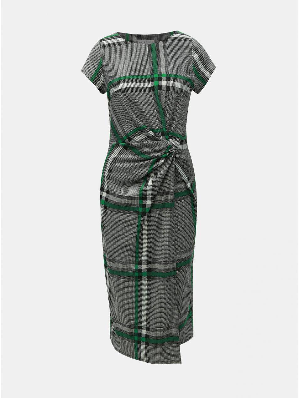 cd8582741260 Sivé kockované šaty Lily   Franc by Dorothy Perkins značky Dorothy ...