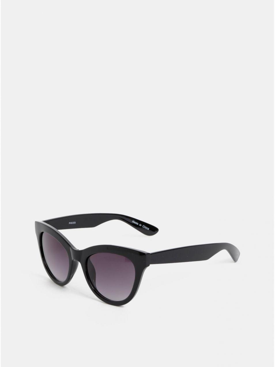 35a6f102d Čierne slnečné okuliare Pieces Stella značky Pieces - Lovely.sk