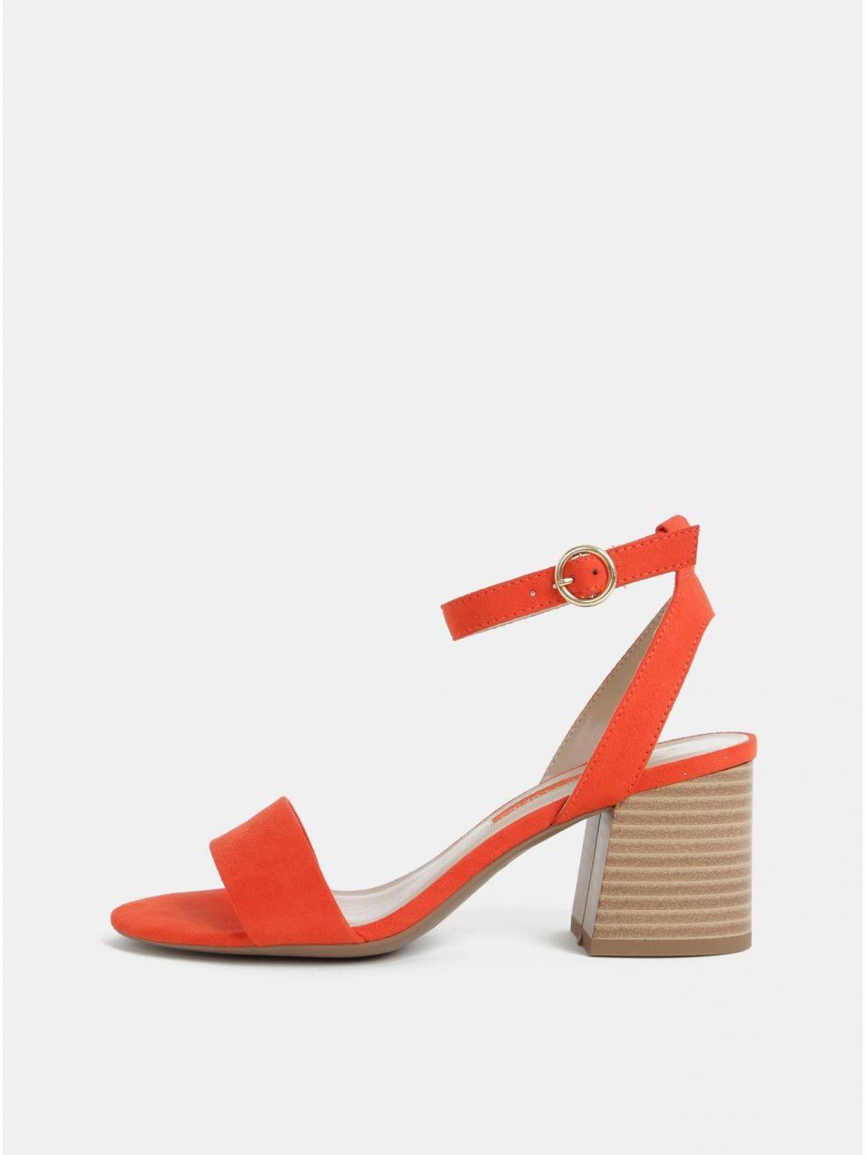 52c460b187c0 Červené sandálky Dorothy Perkins značky Dorothy Perkins - Lovely.sk