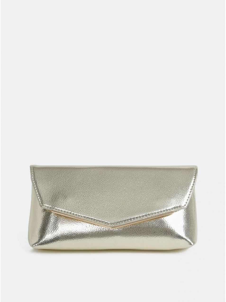 9f916bb04c Listová kabelka v zlatej farbe Dorothy Perkins značky Dorothy ...