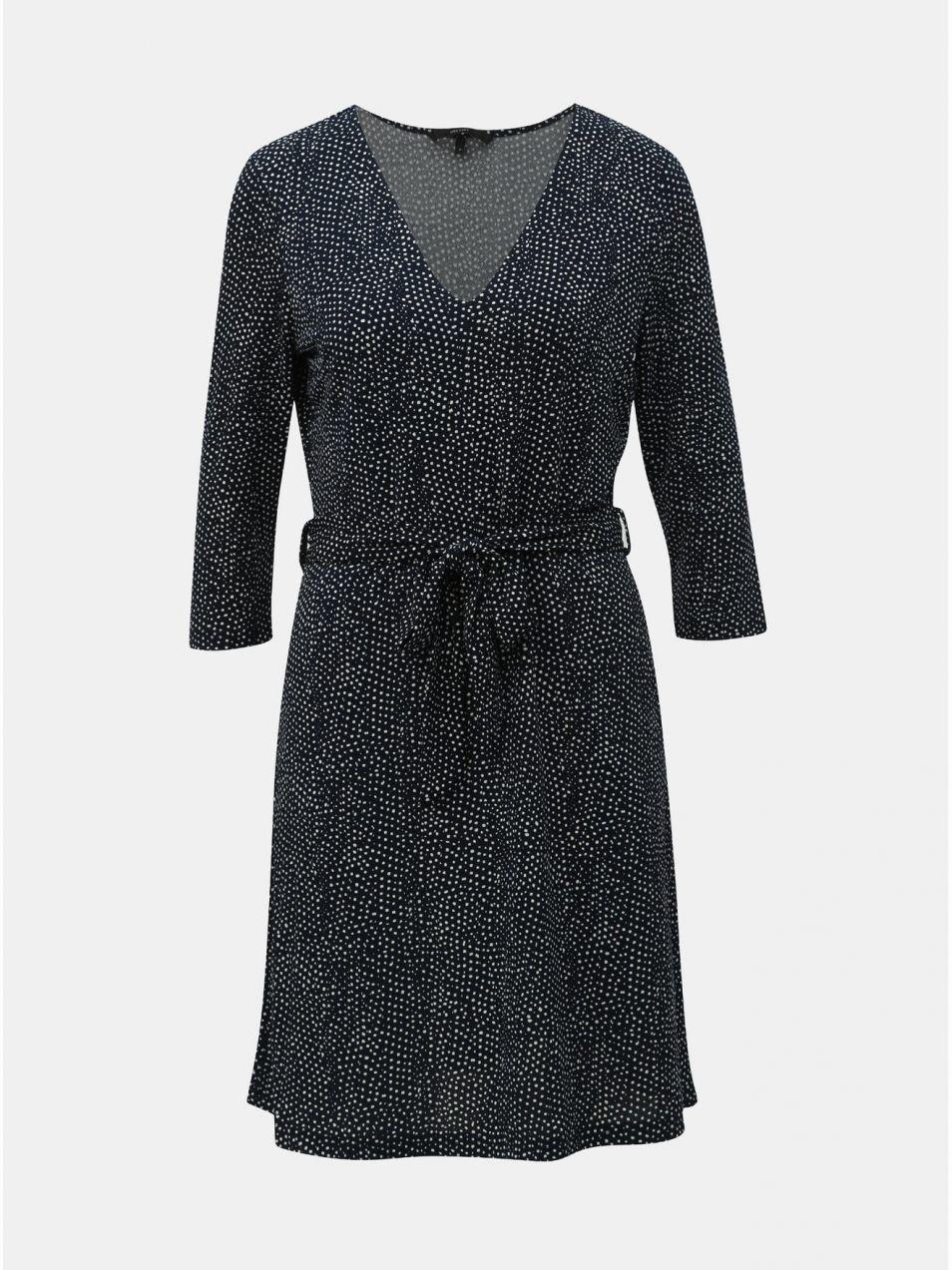 fac9b8a1c43c Tmavomodré bodkované šaty VERO MODA Tia značky Vero Moda - Lovely.sk