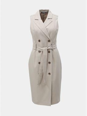 c3d8e5dd63fa Béžové puzdrové šaty Dorothy Perkins