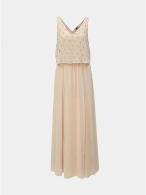 1107af7355e1 Svetloružové lesklé šaty na ramienka Miss Selfridge značky Miss ...