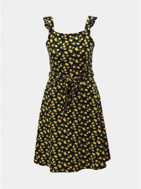 fe4e39e6e681 Tmavomodré kvetované šaty na ramienka Dorothy Perkins značky Dorothy ...