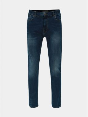 Tmavomodré slim fit rifle Burton Menswear London