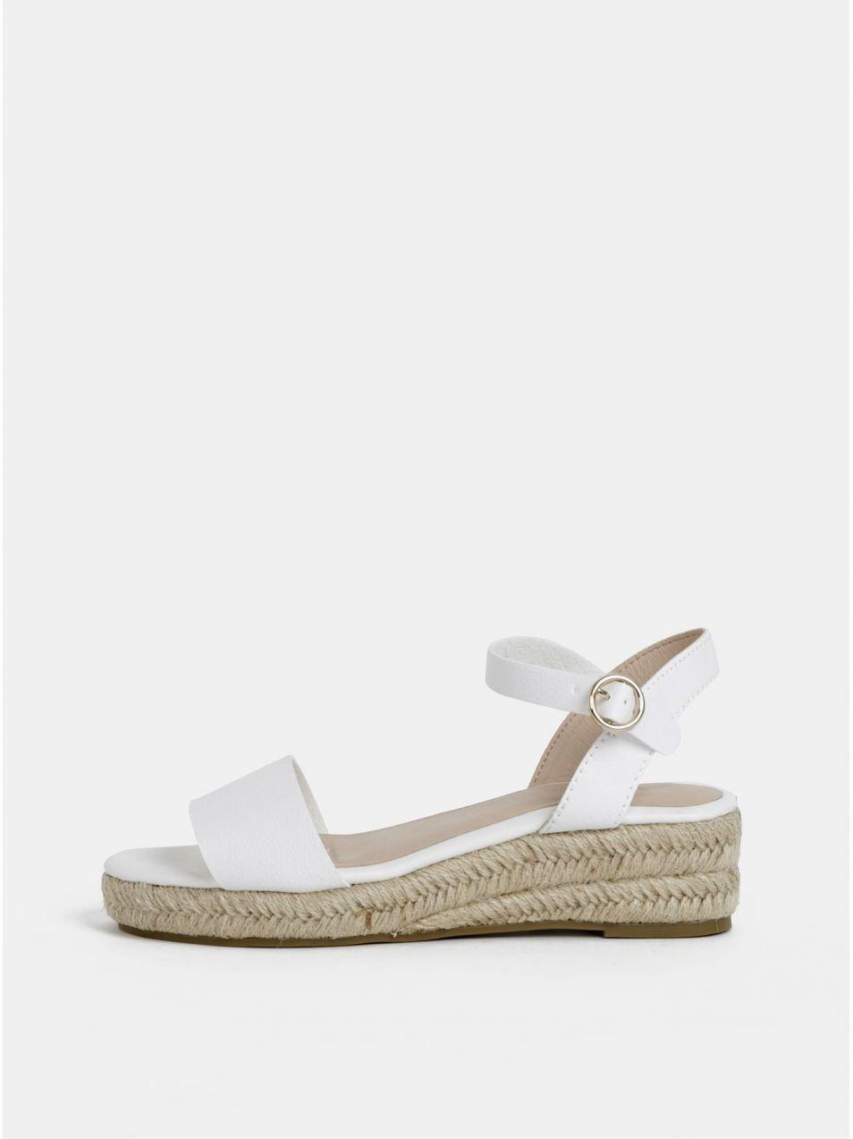 186f07fa2e9d Biele sandále Dorothy Perkins značky Dorothy Perkins - Lovely.sk