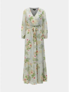 708aea98c3b5 Svetlozelené kvetované maxišaty Dorothy Perkins značky Dorothy ...