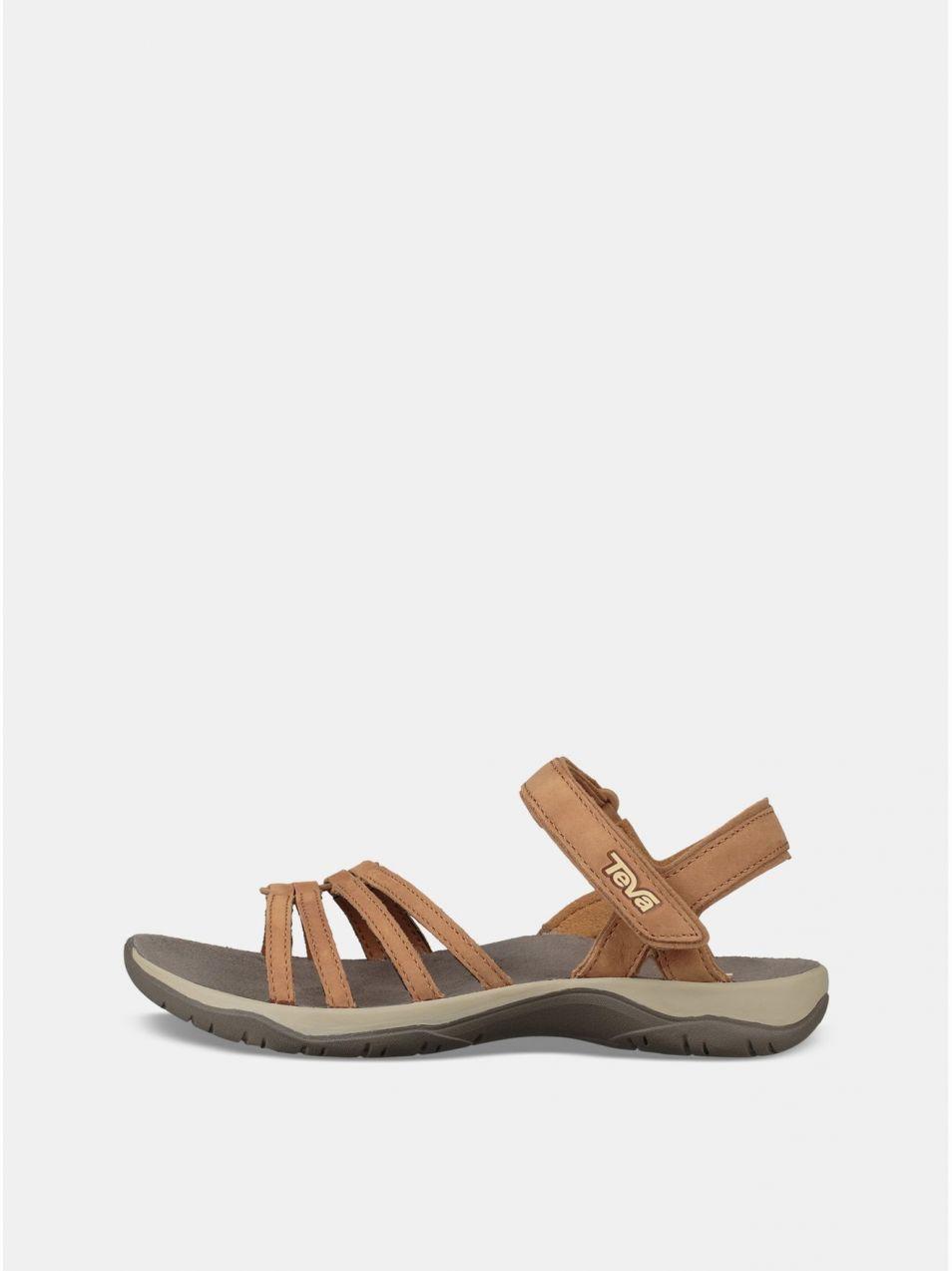 50abef285f Hnedé dámske kožené sandále Teva značky Teva - Lovely.sk