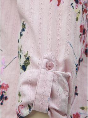 e16e6177ce9e Ružová kvetovaná košeľa M Co značky M Co - Lovely.sk