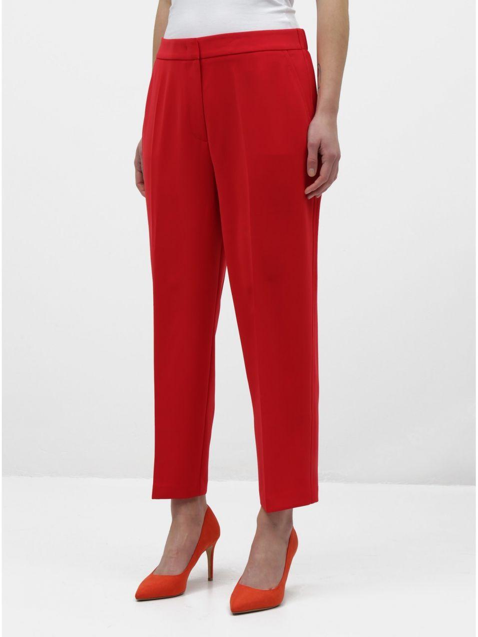 30103f07ed46 Červené dámske nohavice Tommy Hilfiger značky Tommy Hilfiger - Lovely.sk