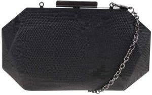 Čierna listová kabelka v tvare diamantu Chi Chi London Em 643d0c9c4c9