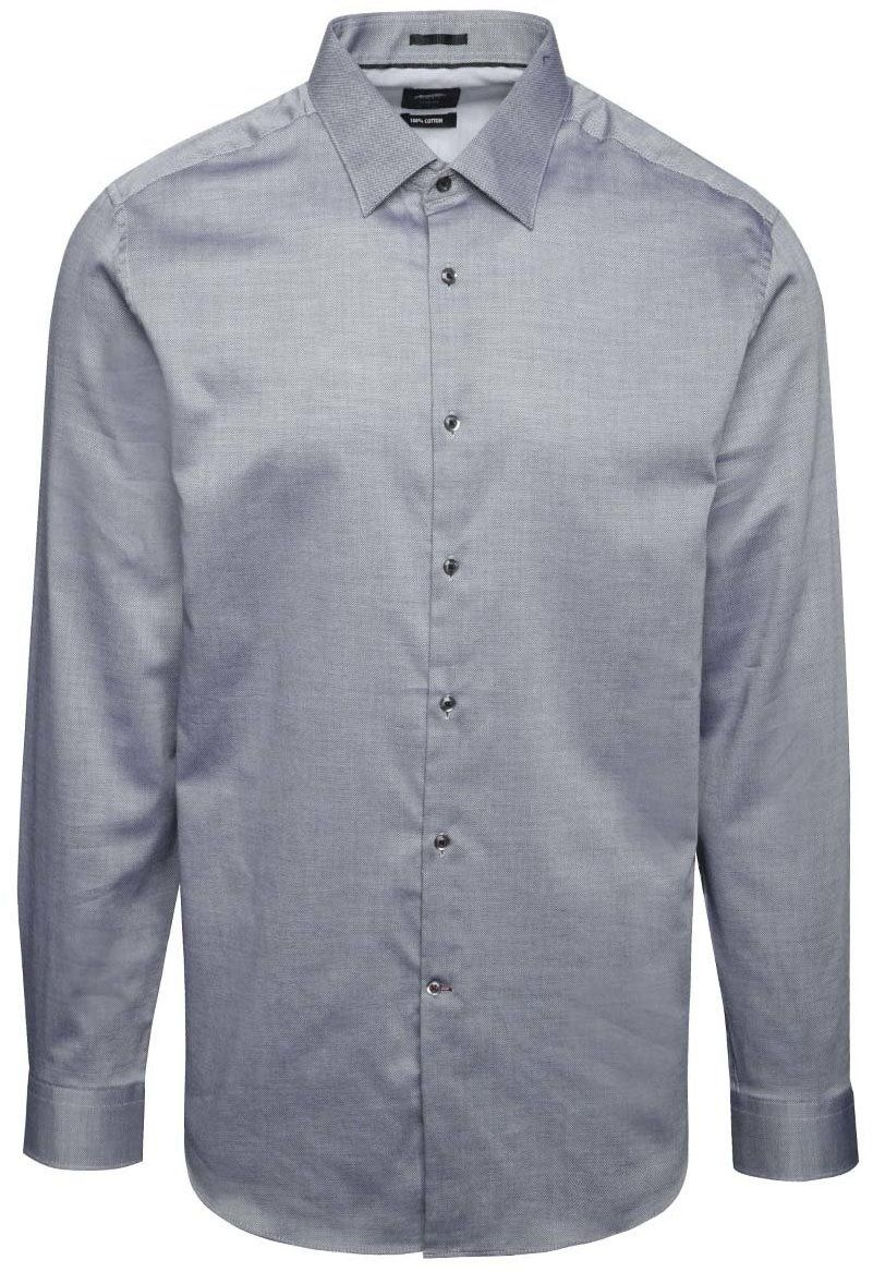 ea97d1fe123a Sivá neformálna košeľa s jemným vzorom Burton Menswear London značky Burton  Menswear London - Lovely.sk
