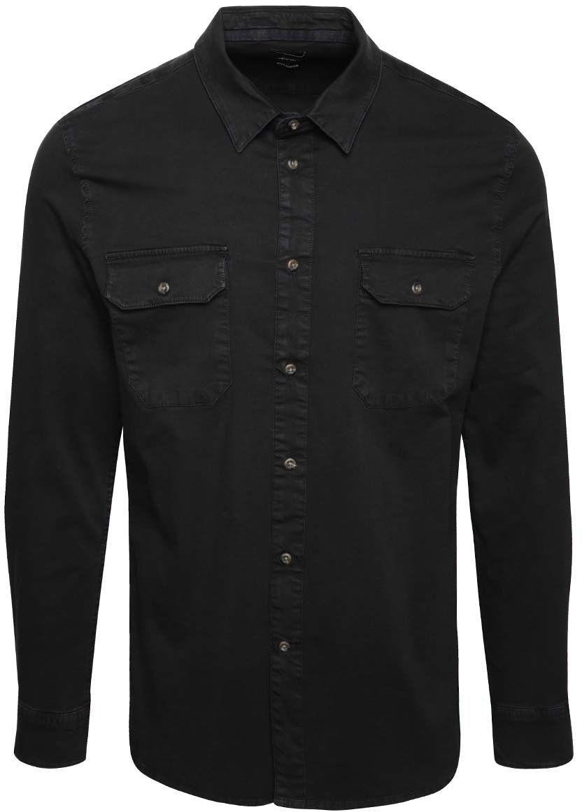 c402a0de56b7 Čierna rifľová košeľa Burton Menswear London značky Burton Menswear London  - Lovely.sk