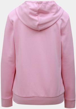 b6c5b57ed Ružová dámska mikina s potlačou adidas CORE značky adidas CORE ...